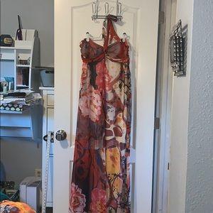Xhilaration XL multicolored maxi dress